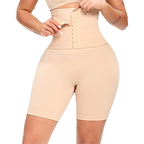 SURE YOU LIKE Shapewear Damen Bauch Weg Stark Formend Figurenformend Miederpant Miederhose Mit Bein Taillenformer Body Shaper Bauch Kontrolle...
