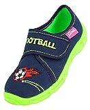 Beck Football, Zapatillas de Estar por casa Niños, Azul (Dunkelblau 05), 31 EU