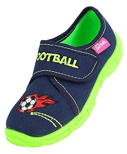 Beck Football, Zapatillas de Estar por casa Niños, Azul (Dunkelblau 05), 34 EU