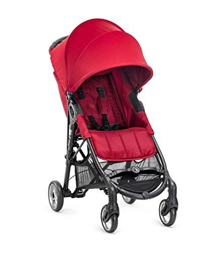 Baby Jogger - Silla de paseo city mini zip rojo