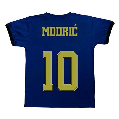 Champion's City Kit T-shirt et pantalon pour enfant Deuxième équipement – Real Madrid – Réplique autorisée – Joueurs 10 ans 10 - Luka Modrić