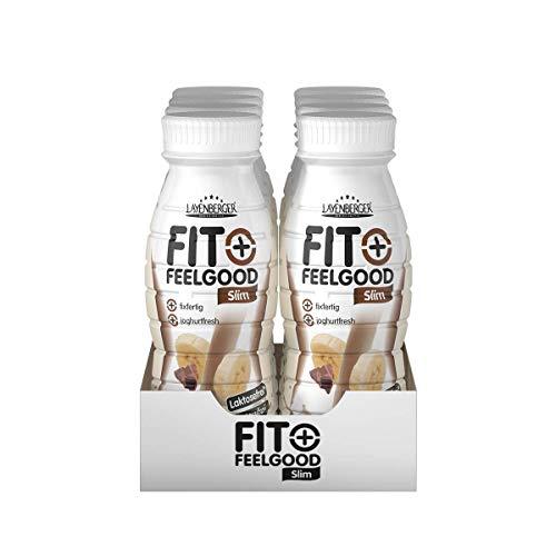 Layenberger Fit+Feelgood Slim Shake fixfertig Schoko-Banane, 8er Pack (8 x 312 ml)