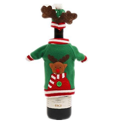 Cinnamou, cestino natalizio porta dolciumi, cestino regalo con decorazione di Babbo Natale