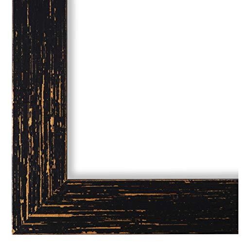 Online Galerie Bingold Bilderrahmen Schwarz 50x70-50 x 70 cm - Modern, Shabby, Vintage - Alle Größen - handgefertigt - WRF - Cremona 3,0