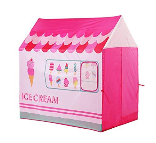 Z-w-dong Tienda de casa pequeña, casa de juguete for niños Habitación de juguete for niños tienda de campaña pequeña piscina de piscina for niños Marine Princess Princess Room 112 * 70 * 110CM Tiendas