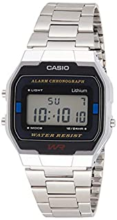 Casio Collection Unisex Adults Watch A163WA-1QES (B000KDBJIE)   Amazon price tracker / tracking, Amazon price history charts, Amazon price watches, Amazon price drop alerts