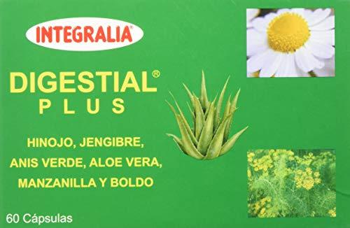 Integralia Digestial Plus - Complemento Alimenticio, 60 Cápsulas