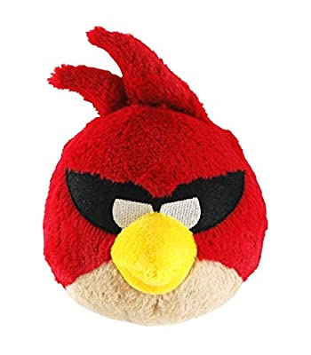 "Commonwealth Toys Angry Birds Space 5"" Basic Plush Super Red Bird"