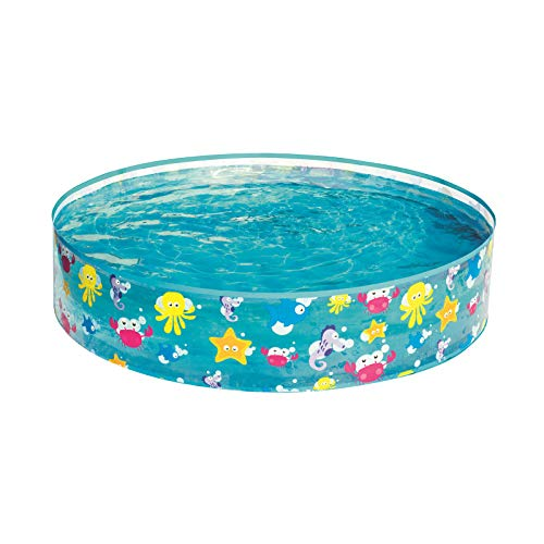 Bestway Fill'N Fun Planschbecken Sparking Sea, 122 x 25 cm