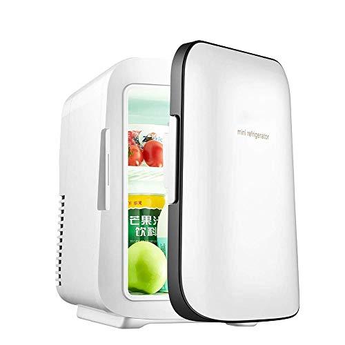 LJJOO Al Aire Libre portátil termoeléctrica Mini refrigerador del refrigerador y calentador-4L / 6 latas, Ideal for automóviles, Viajes, Dormitorio, Dormitorio y Camping Frigoríficos Mini