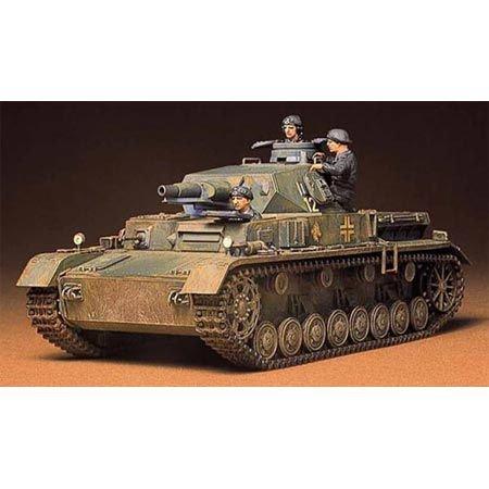 Tamiya 35096 - 1:35 WWII Deutsche Panzerkampfwagen IV Ausführung D, Modell-Bausatz