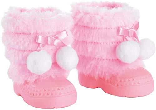 Bayer- Bottes d'hiver, Chaussures pour Poupée, Accessoires Poupon, 73101AA, Rose