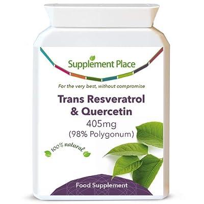 Trans Resveratrol 98% + Quercetin (60 Capsules)