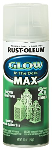 Rust-Oleum 278733 Specialty Spray Paint 10 oz, Glow in The Dark Max