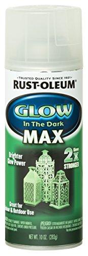 Rust-Oleum 278733 Specialty Spray Paint 10 oz, Glow in...
