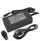 Kastar AC Adapter, Power Supply 12V 6A 72W, Tip Size 5.52.5mm for LCD Monitor, LCD TV, 5050 3528 5630 LED Strip Light, Tape Light, Rope Light, Wireless Router, ADSL Cats, Security Camera