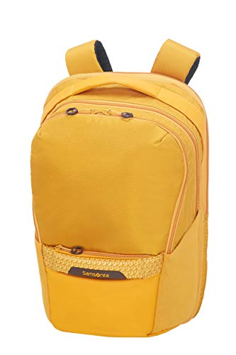 Samsonite Hexa-Packs - Laptop Backpack Medium Expandable - Work Rucksack, 48 cm, 25 Liter, Dark Yellow