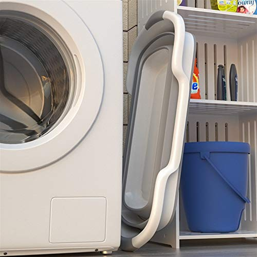 Canasta de almacenamiento multifuncional para el h Creativa bañera plegable para bebés,...