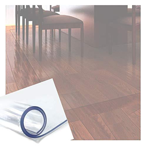 Estera de Protección Suelo, Impermeable El Plastico CLORURO DE POLIVINILO Rectángulo Casa Oficina Silla Alfombrilla, Personalizable GHHQQZ (Color : 1.3mm, Size : 80x150cm)