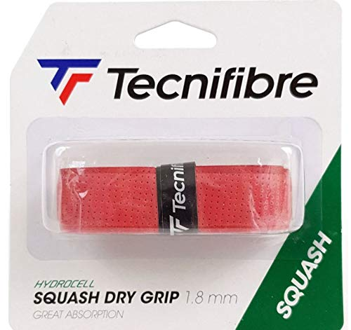 Tecnifibre Nuevo Squash Dry Grip - Red Rojo