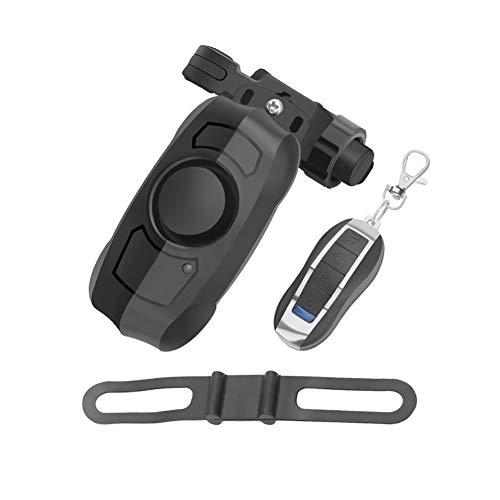 Nai-Style Vélo USB d'alarme Rechargeable antivol Alarme Télécommande sans Fil vélo Cloche véhicule d'alarme de sécurité