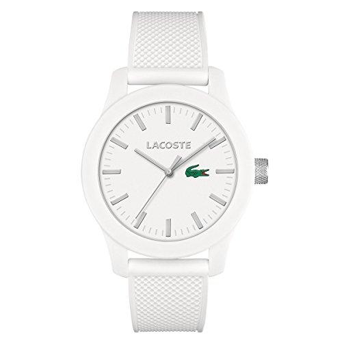 Lacoste 2010762 Lacoste.12.12 - Reloj analógico de pulsera para hombre, correa de silicona