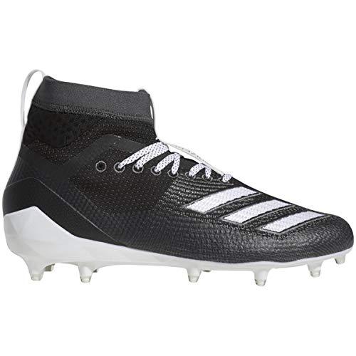 adidas Herren Adizero 8.0 Sk Fußballschuh, Schwarz (schwarz/weiß/grau), 52 EU