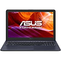 """ASUS K543UA-GQ2534 - Portátil de 15.6"""" HD (Intel Core i3-7020U, 8GB RAM, 256 GB SSD, Intel Graphics, sin sistema operativo) Gris Estrella - Teclado QWERTY Español"""