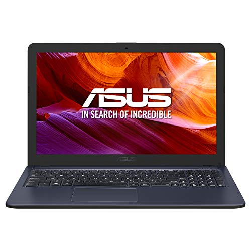 "ASUS K543BA-GQ749 - Portátil de 15.6"" HD (A9-9425, 8GB RAM, 256GB SSD, AMD Radeon Graphics, sin sistema operativo) Gris Estrella - Teclado QWERTY Español"