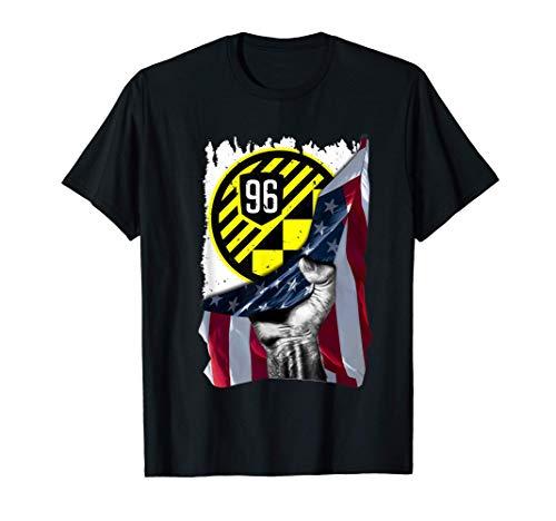 Columbus Soccer Jersey Style Crew Football USA Flag Gift T-Shirt