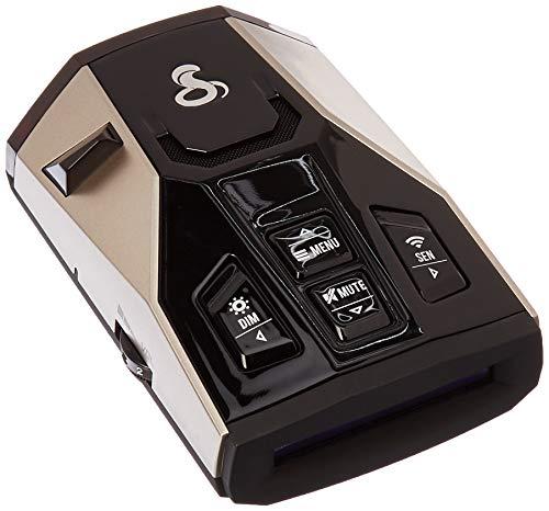Cobra RAD 450 Laser Radar Detector with False Alert Filter and Voice Alert (Renewed)