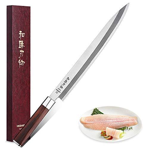 HEZHEN Cuchillo Sashimi de 300 mm SZE-300