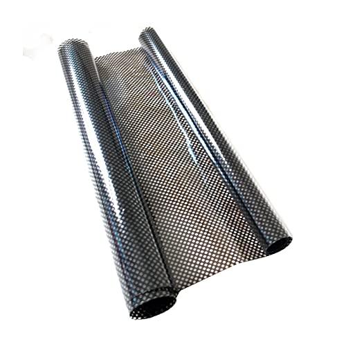 Ulapithi Protector solar para ventana, protección UV, reduce el brillo, resistente a los arañazos, autoadhesivo, para montaje en exterior e interior, lámina estática de 200 x 45 cm