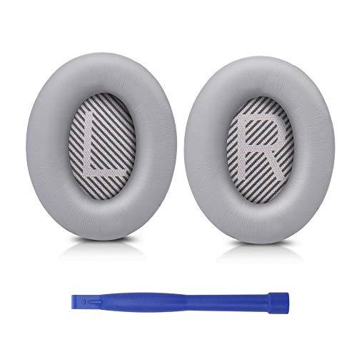 SoloWIT® professionelle Ersatz Ohrpolster für Bose QC35, kompatibel mit Over-Ear Kopfhörern von QuietComfort 35 (QC35) und Quiet Comfort 35 II (QC35 ii)