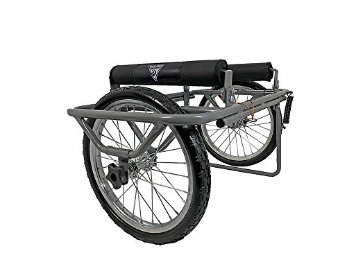 Seattle Sports Paddleboy ATC All-Terrain Center Kayak and Canoe Dolly Carrier Cart, Grey, Large