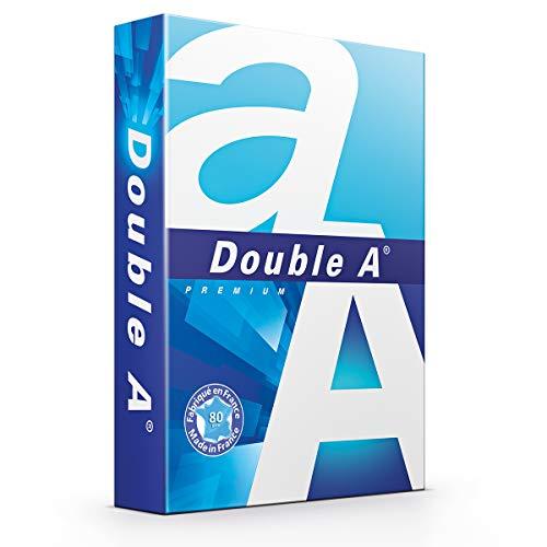 Double A Drucker-/ Kopierpapier Premium: 80 g/m², A3, 500 Blatt, weiß