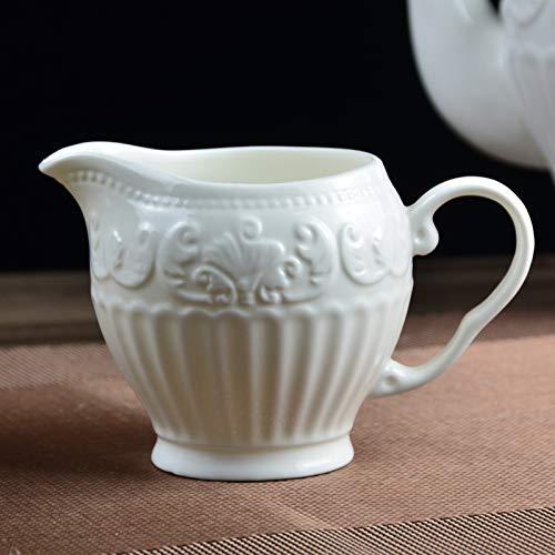 njhswlti Europäische Keramik Teekanne Kreative Teekanne Kaffee Set Nachmittagstee Set Tee-Set...