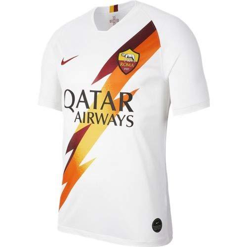 NIKE Camiseta Equipación Domicilio Stadium 2019/2020, Short Sleeve Top, Hombre, Blanco, L