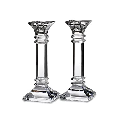 Waterford TREVISO CANDLESTICK 8  PAIR