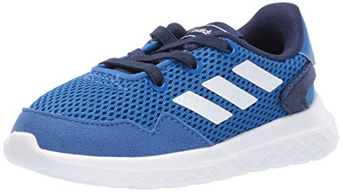 adidas Baby Archivo Sneaker, Blue/White/Dark Blue, 4K M US Toddler