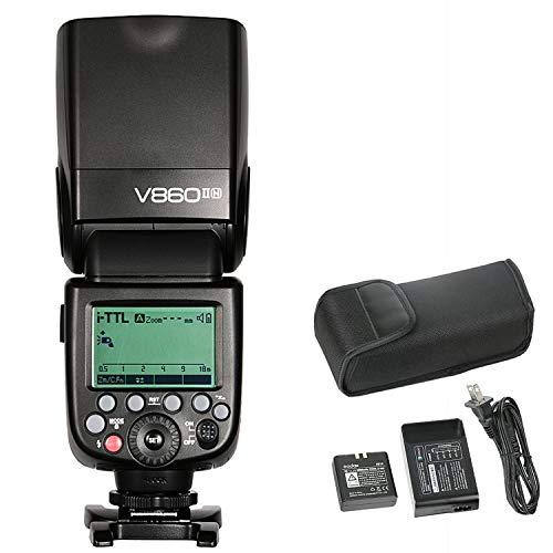 Godox Ving V860II-N Camera Flash Speedlite, TTL 2.4G HSS Speedlight for Nikon DSLR Cameras Nikon D800 D700 D7100 D7000 D5200 D5100 D5000 D300 D300S D3200 D3100 D3000 D200 D70S D810 D610 D90 D750