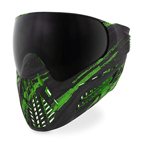 Virtue VIO Ascend Thermal Paintball Goggle with Dual Pane Lens - Graphic Lime