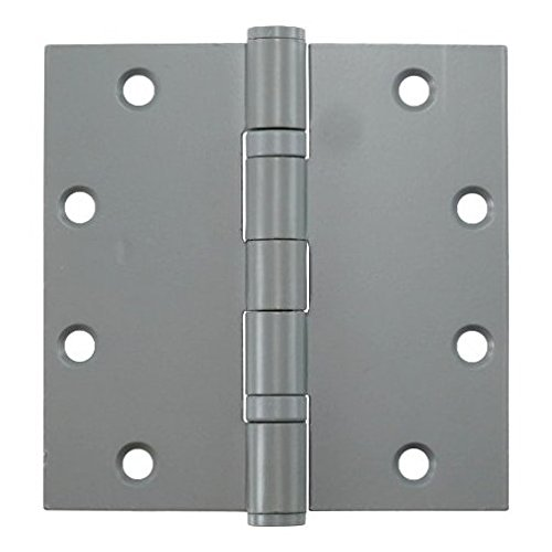"""5"""" Prime Coated Ball Bearing Butt Hinges - Sold By The Box 1-1/2 Pair (3 Pieces)"""