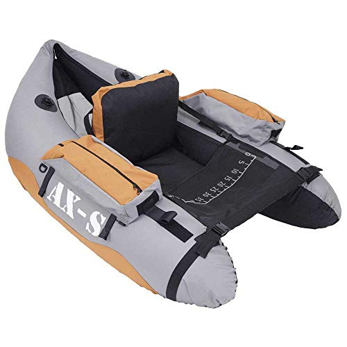 Sparrow AXS Float Tube Adulte Unisexe, Gris/Orange,...