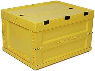 MU Grande boîte de rangement pliable, boîte de rangement des aliments, boîte de rangement pour voiture, lumière et pratiqu...