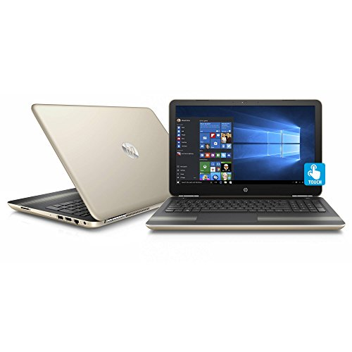 2017 HP Pavilion 15.6 Inch Touchscreen High Performance Flagship Laptop (Intel Core i5-6200U up to 2.8GHz, 8GB RAM, 1TB HDD, DVD, WiFi, Windows 10 Home) (Renewed)