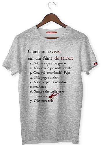 CAMISETA COMO SOBREVIVER A UM FILME DE TERROR