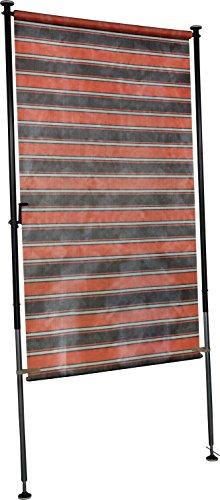 Angerer Balkon Sichtschutz Nr. 3400 orange, 120 cm breit, 2318/3400