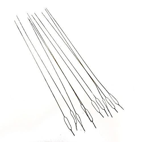 Cutex (TM) Brand Pack of 12 Overlock Serger Looper & Needle Threading Wires/Threaders