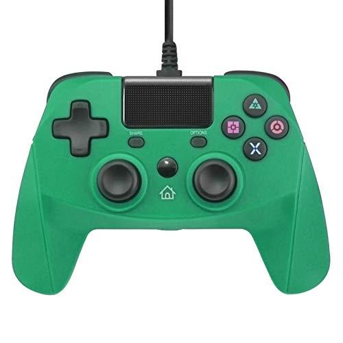 XIKONG Cargador para el Controlador PS5, estación de Carga USB Dock Playstation 5 DualSense Wireless Controller con Puertos duales PS4 Bluetooth Gaming Shock Gyroscopios PS Green